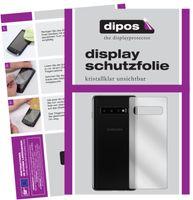 2x Samsung Galaxy S10 Plus Rückseite Schutzfolie klar Displayschutzfolie Folie
