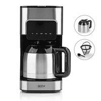 Kaffeemaschine Thermoskanne Filterkaffeemaschine Timer Touch Display 8 Tassen