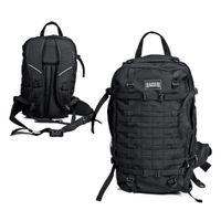 HI-TEC - Magnum Tajga Backpack Black ca.40L (Rucksack) Schwarz LARGE großer Ranzen Assault Pack