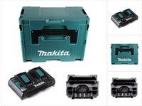 Makita DC18RD ZJ Doppel Schnellladegerät im Makpac 3 inkl. Einlage