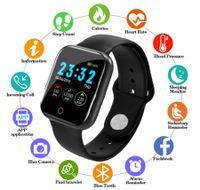 Bluetooth Smartwatch für Damen Herren Armbanduhr Wasserdicht Fitness Armband Uhr Smartwatch Android IOS