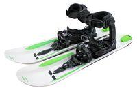 Crossblades Schneeschuhe Softboot, Tourenski System zum Schnee-Wandern inkl. Wendeplatte für Ski und Steigfell