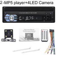 9601 7-Zoll-Bluetooth-Auto-FM-Radio-Audio-Video-MP5-Player mit Rückfahrkamera - mit 4-LED-Rückfahrkamera