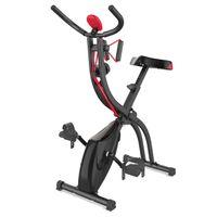 Fitness Fahrrad Fitnessbike Heimtrainer Hometrainer klappbares Fahrradtrainer