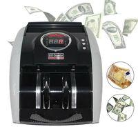 Geldzählmaschine Geldzähler Geldzählgerät LED-Anzeige Geldscheinzähler UV/MG für Banknoten und Geldscheine