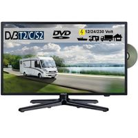 Gelhard GTV-2082PVR LED 20 Zoll Wide Screen TV DVD DVB/S/S2/T2/C 12/24/230 Volt mit PVR-Funktion