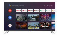 CHiQ 4K Ultra HD LED TV 139cm (55 Zoll) U55H7S, Triple Tuner, Android Smart TV, HDR10