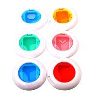 6 Stk. Farbfilter Objektivfilter Makroobjektiv für FujiFilm Instax Mini 8/8+/9 Polaroid-Kamera
