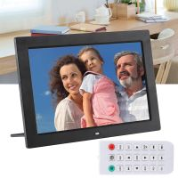 "12"" Digitaler Bilderrahmen Fotorahmen TFT LED MP3 MP4 Video Player inkl. Fernbedienung"
