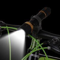 Universal-Taschenlampe Fahrradhalterung Drehbare Fahrrad-Fackel-Halter Halterung f/ür Au/ßen