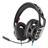 Plantronics RIG 300 Headset, Binaural, Kopfband, Verkabelt (1,3m), Farbe: Schwarz