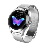 KINGWEAR KW10 Smart Watch Sportwatch Damen IP68 Wasserdichte Pulsuhr BT Fitness Tracker fš¹r Android IOS Fitness Armband Smartwatch