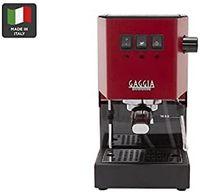 Gaggia NEW Classic RI 9480/11 / 9380/46/47 Traditionelle Espressomaschine, Edelstahlgehäuse, Milchaufschäumer