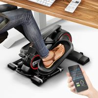 MesseNeuheit 2020! Mini Heimtrainer mit App, Stepper DFX100 Crosstrainer für Bewegung im Büro Alltag & zuhause, Arbeitsplatz Gesundheit, kein höhenverstellbarer Schreibtisch nötig Bein- & Pedaltrainer