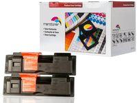 Merotoner® 2x XL Toner Kompatibel zu Kyocera Mita TK18 Toner schwarz für Kyocera FS-1020D