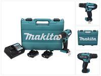 Maktia DF 333 DWAE Akku Bohrschrauber 12 V max. 30 Nm + 2x Akku 2,0 Ah + Ladegerät + Koffer