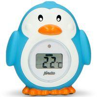 Alecto BC-11 PENGUIN - Raum- und Badewannenthermometer, Pinguin