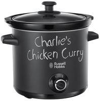 RUSSELL HOBBS 24180-56 Chalkboard Schongarer Slow Cooker