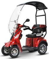 ECO ENGEL 510 Rot, 25 km/h mit Dach 4 Rad Seniorenmobil E- Mobil