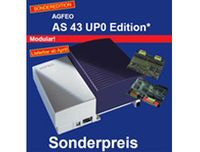 AGFEO AS 43, Verkabelt, USB/RS 232, 320 x 100 x 260 mm