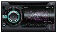 Sony WX-900BT 2-DIN CD MP3 USB Autoradio mit Bluetooth Freisprecheinrichtung