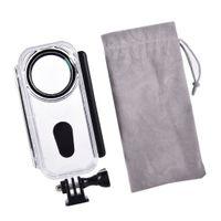 Kameratasche Kamera-Tauchgehäuse Schutzhülle für Insta360 ONE X Kamera Unterwasser Fotografie