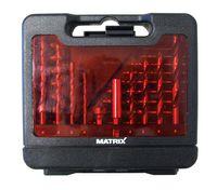 MATRIX 120310091 31tlg Bohrer- und Bit-Set in Aufbewahrungsbox