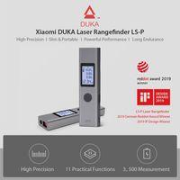 Neuer Xiaomi DUKA Laser-Entfernungsmesser LS-1 Tragbarer, hochpraeziser USB-Schnellladungs-Entfernungsmesser 25M New Xiaomi DUKA Laser Rangefinder LS-1 Handheld Portable High Precision USB Fast Charge Range Finder 25M