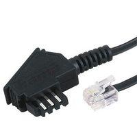 Hama 00030041, TAE/Modular, TAE-F Plug, Modular-Plug 6p4c