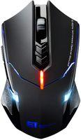 Laptop Maus, Mute-Maus 2.4 G 2400 DPI, 7 Tasten, Drahtlose Maus Silent Schnurlos Funkmaus Gaming Maus