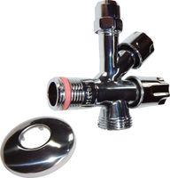 Kombinations-Eckventil für Steckeranschluss