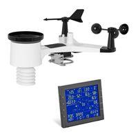 """Steinberg Systems WiFi Wetterstation - LCD 6,89"""" - interner Speicher - Innensensor"""