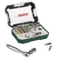 Bosch Prom 26 tlg. Schrauberbit Set mit Ratsche