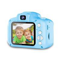 Kinderkamera, 2000-W-Pixel-Farbdisplay und 32-GB-SD-Kartenkamera, Kindergeschenk, Minikamera (blau, Einzelkamera)
