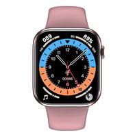 HW16 Vollbild 3D Dynamisches Zifferblatt Smart Watch IP67 Wasserdichte Uhr Smart Armband 1,72 Zoll Bildschirm Tragbare Smartband Intelligente Uhr für Kinder Erwachsene, Rosa