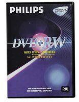 Philips Dvd+rw 4.7 GB DVD+RW, 4,7 GB, 120 min