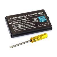 Akku Battery Batterie Accu für Nintendo 3DS 3 DS 2000 mAh + Schraubenzieher