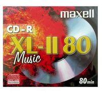 Maxell CD-R Music XL-II 10 Pack, CD-R, 700 MB, 52x, Schmuckkasten