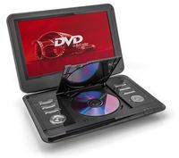 Caliber MPD112 Tragbarer DVD-Player, Schwarz