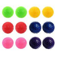 Igelball Massageball Noppenball 9cm 12er-Sparset (6 Farben je 2 Stück)