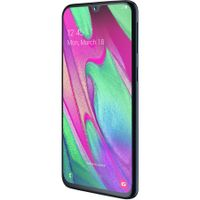 Samsung Galaxy A40 SM-A405FN/DS 64 GB Smartphone - 15 cm (5,9 Zoll) Super AMOLED Full HD Plus 2340 x 1080 - 4 GB RAM - Android 9.0 Pie - 4G - Schwarz - Bar - 2 SIM Support - kein SIM-Lock - Front Came