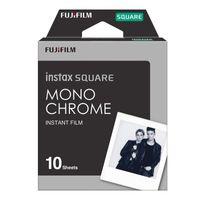 Fujifilm Instax Square Monochrome Sofortbildkamera Film, Farbe:Monochrome
