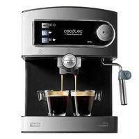 Cecotec Power Espresso 20 20 Bar digitale Espressomaschine für Espressos und Cappuccinos mit Manometer und drehbarem Aufschäumer
