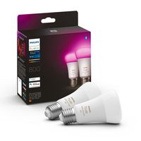 Philips Hue Bluetooth White & Color Ambiance LED E27 60W 570lm Doppelpack