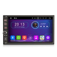 "7"" Touchscreen Android Autoradio Navigation GPS USB Media für Nissan 2 DIN"