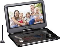 Denver Portable DVD Player MT-1150T2H, Cabrio, Farbe: Schwarz