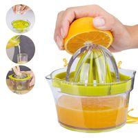 HLHBDSM  Manuell Zitronenpresse Orangenpresse Zitruspresse, Spülmaschinenfest Hergestellt aus Biologisch Abbaubarem Weizenstroh