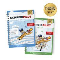 Schreibpilot Heft Buchstaben & Zahlen mit Bleistift/Radiergummi - DIN-A4