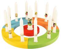 PAPSTAR Geburtstagskerzen-Set mit Lebenslicht