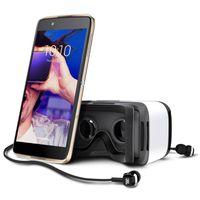 Alcatel Idol 4+ Smartphone gold inkl. VR-Brille